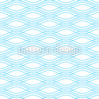 Smooth Wavy Lines Seamless Vector Pattern Design