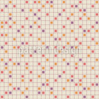 Squared Grid Seamless Vector Pattern Design
