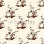 Kaffeetasse Nahtloses Vektormuster