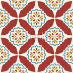 Mediterrane Symmetrie Nahtloses Vektormuster