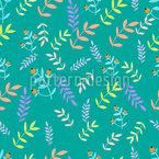 ramoscelli colorati disegni vettoriali senza cuciture