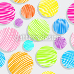 Marbles Seamless Vector Pattern
