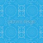 Symmetric Magic Seamless Vector Pattern Design