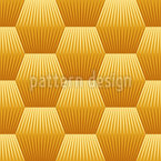 Geometric Hexagon Seamless Vector Pattern Design