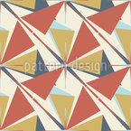 Dreiecke Und Kreuze Nahtloses Vektormuster