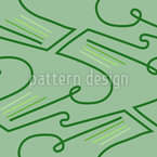 Lines On The Meadow Seamless Vector Pattern Design