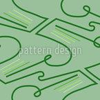 Linien auf der Wiese Nahtloses Vektormuster
