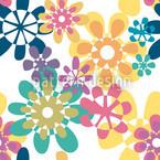 Glori Flori Bunt Vektor Muster