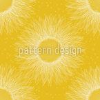 Große Sonnenblume Nahtloses Vektormuster