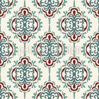 Ornamentale Rauten Nahtloses Vektormuster