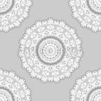 Elegante Mandalas Nahtloses Vektormuster
