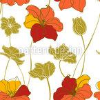 Tulpen-Wiese Nahtloses Vektormuster