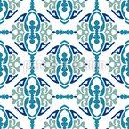 Ornamentales Gitter Nahtloses Vektormuster