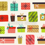 Christmas Gift Variation Seamless Vector Pattern Design