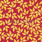 Blatt Gold Vektor Muster