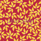 Golden Leaf Vector Pattern