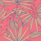 Blätter Mix Nahtloses Vektormuster