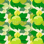 Pflück Einen Apfel Nahtloses Vektormuster