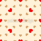 In The Center Of Love Seamless Vector Pattern Design