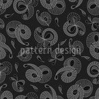 Winding Seamless Vector Pattern Design