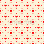 All The Love Seamless Vector Pattern Design