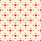 All die Liebe Nahtloses Vektormuster