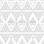 Streifen von Dreiecken Nahtloses Vektormuster