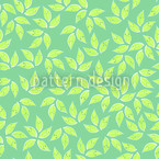 Golden Leaf Spring Repeat Pattern