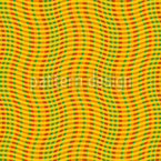 Wellenförmiges Karo Nahtloses Vektormuster