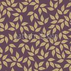 Blatt Gold Winter Nahtloses Vektormuster