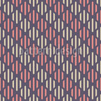 Striped Rhombuses Seamless Vector Pattern Design