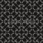 Elegant Symmetry Seamless Vector Pattern Design