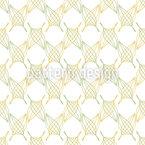 Crossed Leaves Seamless Vector Pattern Design