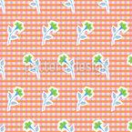 Blütenstiel Nahtloses Vektormuster
