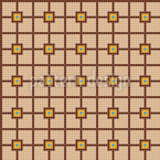 Ceramic Tile Grid Seamless Vector Pattern Design