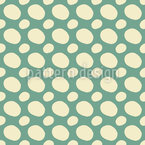 Irregular Dots Seamless Vector Pattern Design