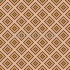 Quadratische Fliesen Mosaik Nahtloses Vektormuster