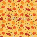 Herbstliche Mischung Nahtloses Vektormuster