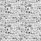 In The Land Of Video Games Seamless Vector Pattern Design