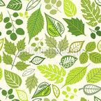 Klassische Blätter Nahtloses Vektormuster