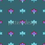 Blüten Illusion Nahtloses Vektormuster