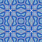 Mosaic Splendor Seamless Vector Pattern Design