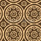 Middle Eastern Tile Seamless Vector Pattern Design
