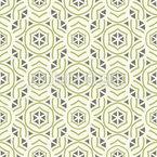 Geometrischer Rhythmus Nahtloses Vektormuster