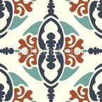Stilisierte Ornamental Fliese Nahtloses Vektormuster