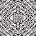 Monochrome Schraffur Nahtloses Vektormuster