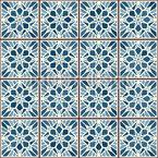 Vintage Tile Seamless Vector Pattern Design
