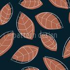 Arrangement Aus Tropischen Blättern Nahtloses Vektormuster