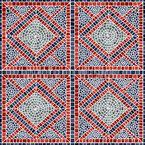 Mosaikfliesen Nahtloses Vektormuster