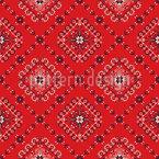 Rumänische Stickerei Kacheln Nahtloses Vektormuster